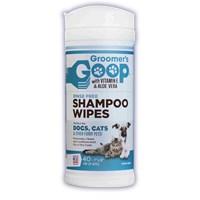 Groomer's Goop Rinse Free Shampoo Wipes