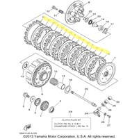 Yamaha Clutch Kit for 2002 YZ250, 2004 to 2012 YZ250