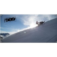 509 David McClure Carve GARAGE BANNER - 4x2