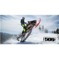 509 Rob Kincaid Wheelie GARAGE BANNER - 4x2