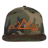 509 5 Peak Snowmobile Snapback Hat