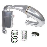 SLP POL 16-17 800 AXYS PRO RMK STAGE 2 EXHAUST KIT (3-6000')