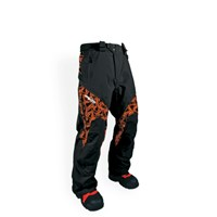 HMK PEAK 2 ORANGE CHECKER SNOWMOBILE PANTS