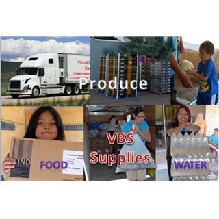 Produce and Supply Trip  - May 2015