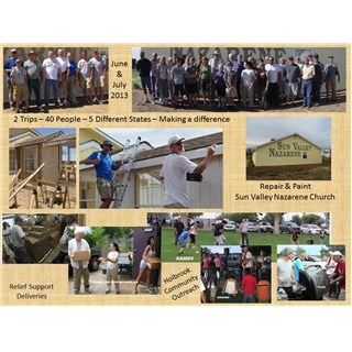 Project/Outreach/Relief Trip - June-July 2013