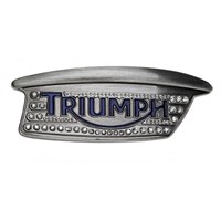 Triumph Jewel Bonneville Tank Badge Buckle
