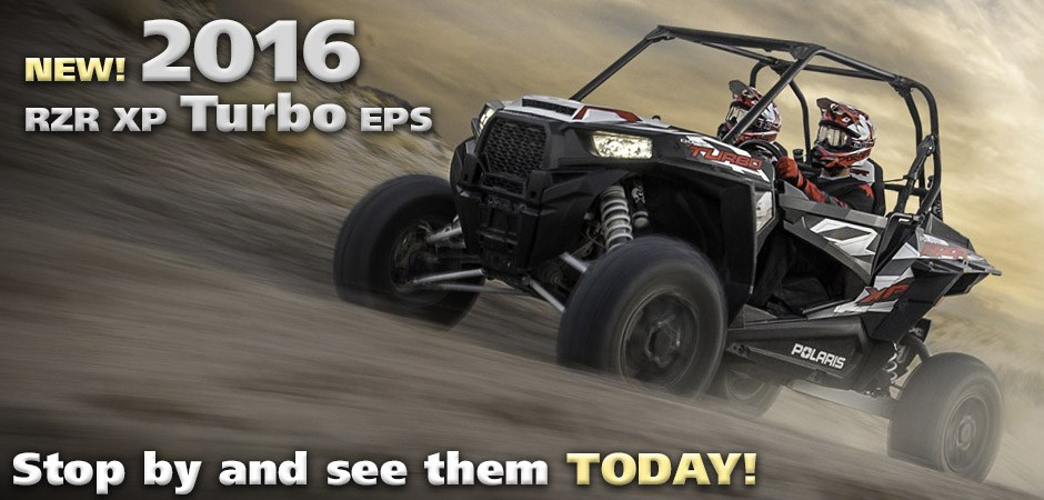 Pre-Order a 2016 RZR XP Turbo Today!
