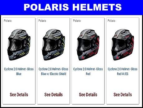 Polaris Snowmobile Helmets for sale