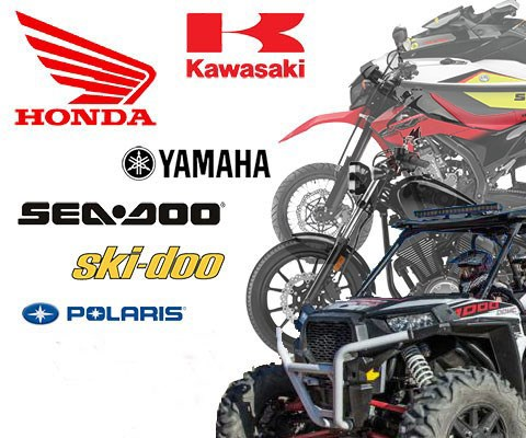 We carry all the Powersport Brands