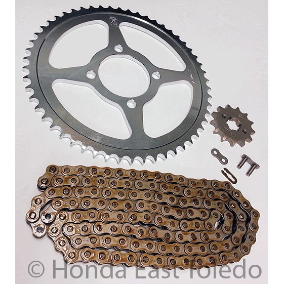 Aftermarket Chain And Sprocket For  Yamaha Ttr L