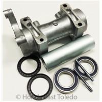 Axle Bearing Carrier w/ Bearings Seals Studs 03 LTZ400 KFX400 DVX400 41046-S010