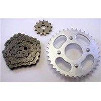CHAIN AND SPROCKET KIT 03-04 CR85RB BIG WHEEL EXPERT CR85 CR 85 SPROCKETS