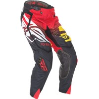 EVOLUTION CODE 2.0 PANT BLACK/RED/YELLOW