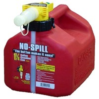 1.25 Gallon No Spill Red Gas Can