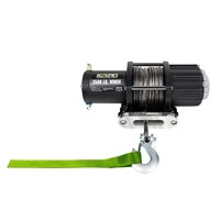 KOLPIN 3500 LBS WINCH W/ SYNTHETIC ROPE