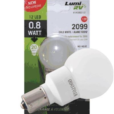 Rv Vanity Led Light Bulbs : #20-99 Vanity Bulb 12 Led 12V : RV Boat Parts