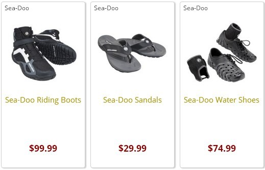 Sea-Doo Water Shoes for jet Ski