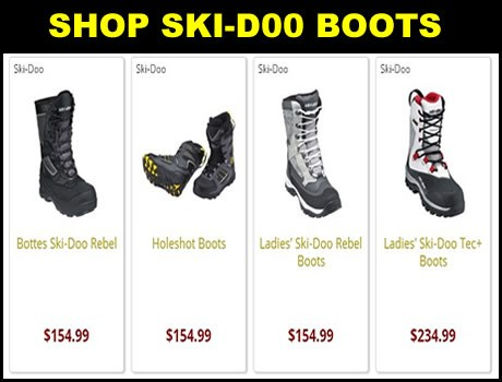 Ski-Doo snowmobile boots for sale