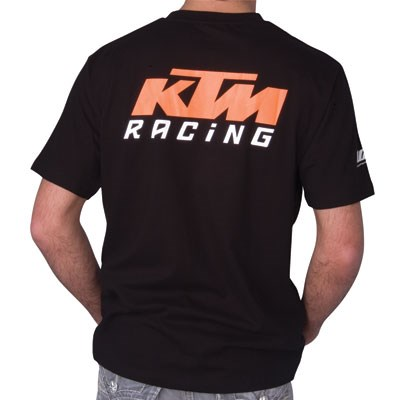 ktm racing t shirt black sloans motorcycle atv. Black Bedroom Furniture Sets. Home Design Ideas