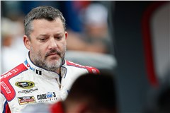 Broken Wheel Hub Befalls Stewart at Bristol