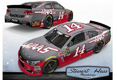 Haas Automation To Sponsor No. 14 Chevrolet At New Hampshire