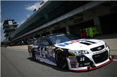 Qualifying for the 22nd Annual Jeff Kyle Brickyard 400