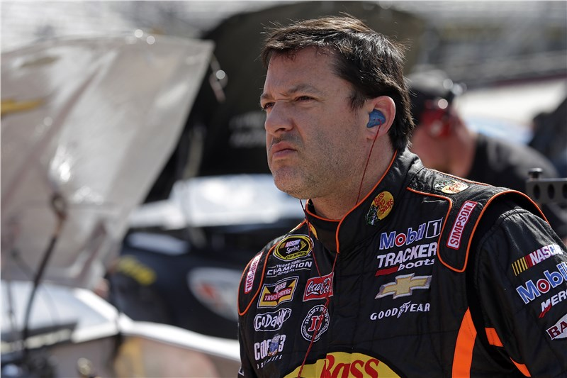 Tony Stewart at Bristol