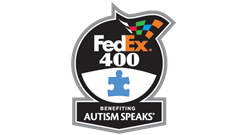 >FEDEX 400 BENEFITING AUTISM SPEAKS