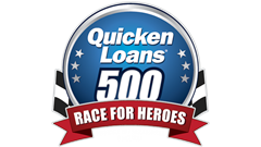 >QUICKEN LOANS RACE FOR HEROES 500