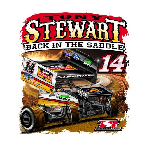 Back in the Saddle-Decal
