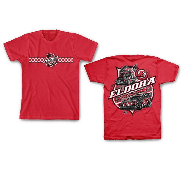 Colorless Big E YOUTH Tee-RED