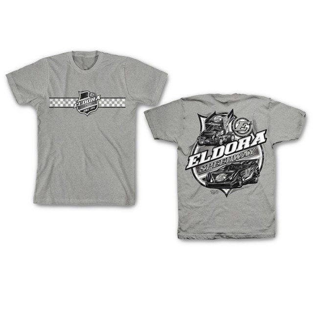 Colorless Big E YOUTH Tee-Gray