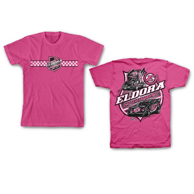 Colorless Big E YOUTH Tee-Pink