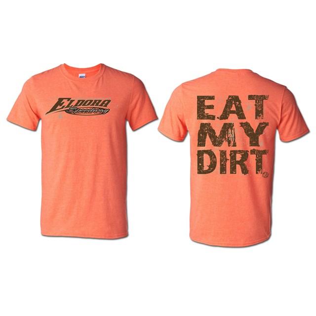 Eat My Dirt Tee - Heather Orange