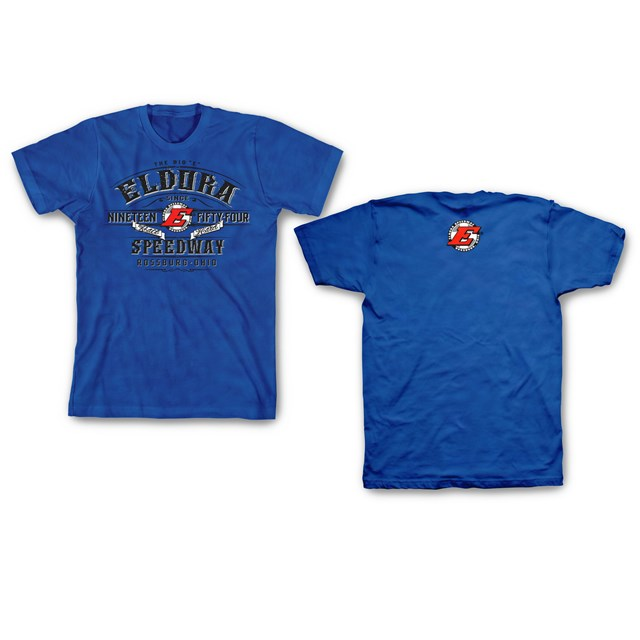 Labeled Tee - Antique Royal