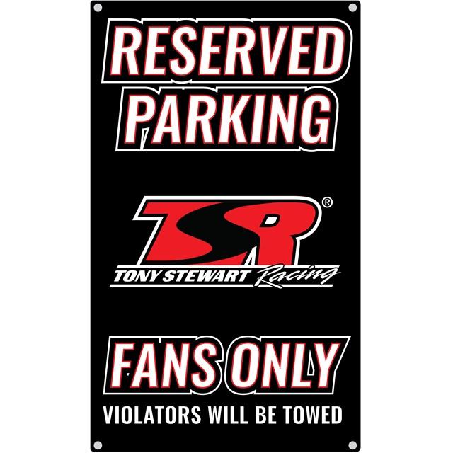 TSR Reserved Parking Sign