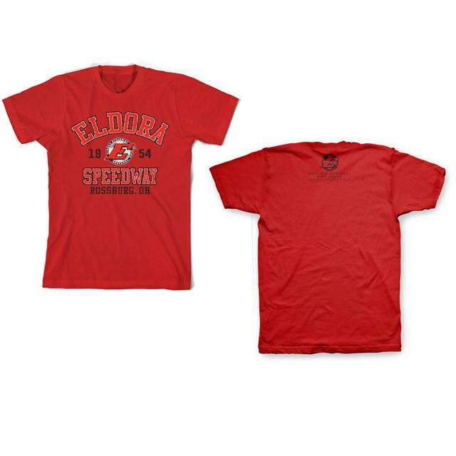 Big E Sporty Tee-RED