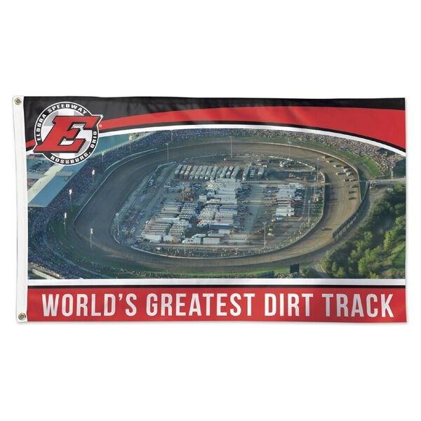 Greatest Oval Track 3x5 Flag