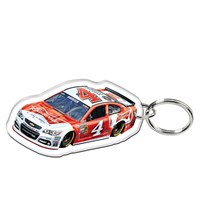 No. 4 Car Keychain