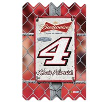 Wooden Fence Sign-Harvick