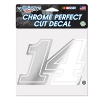 Chrome Diecut Decal-Stewart
