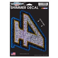 #4 Shimmer Decal