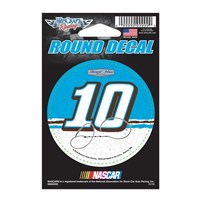 #10 Round 3in. Decal