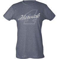 No. 4 Ladies Liquid Silver Tee