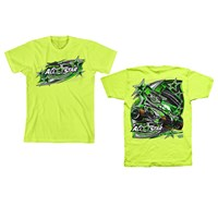 TS All-Star Tee Safety Green