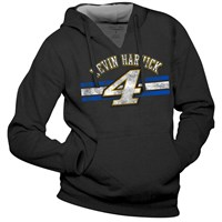Striped Hoodie Ladies-Harvick