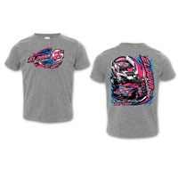 Camo Splatter YOUTH Tee-Pink