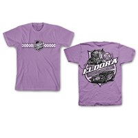 Colorless Big E YOUTH Tee-Lavendar