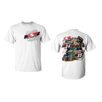 Double Up Tee-White
