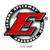 Eldora Round Decal